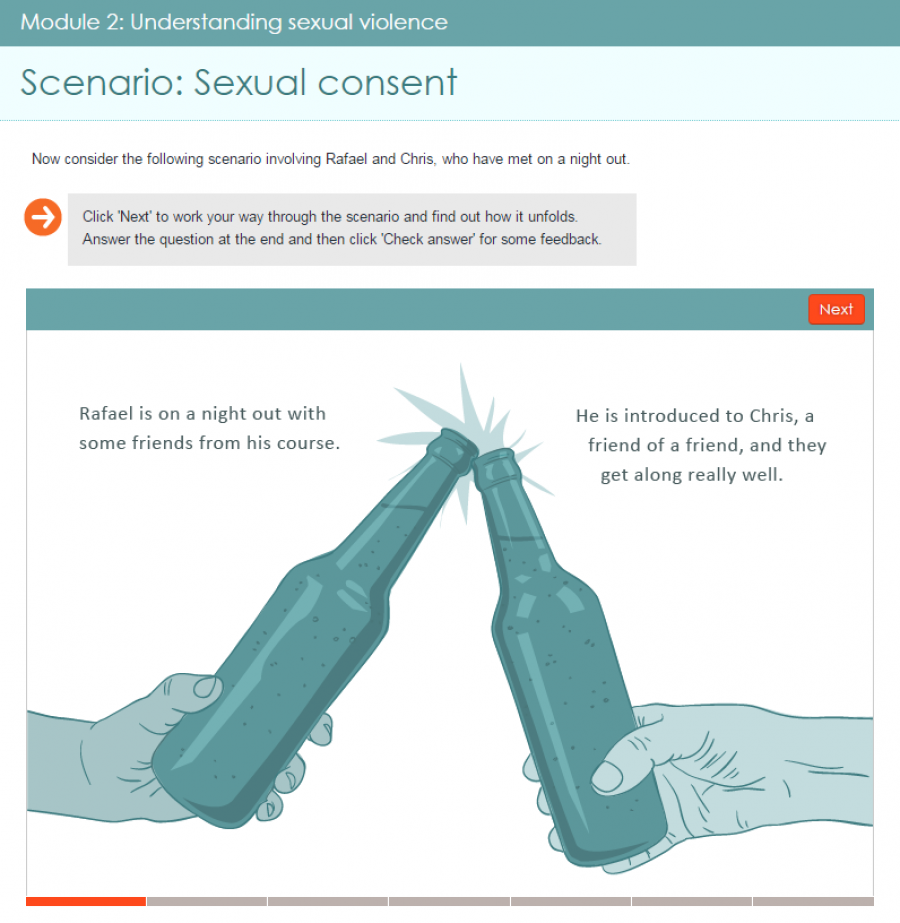 College National Sexual Violence Resource Center
